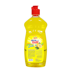 Quick And Easy Dishwashing Liquid Lemon 500ml - Pet