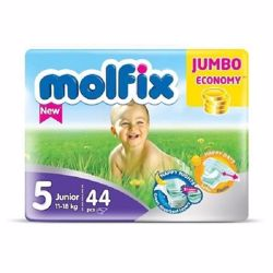 Molfix Comfortable Maxi Baby Diapers 11-18 Kg 44 Count N5