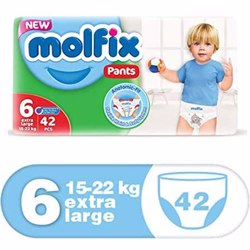 Molfix Comfortable X- Large Baby Diapers 15-22 Kg 42 Count