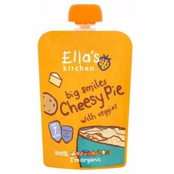 Ella''s Kitchen Puree Cheesy Pie With Veggies 130 Gr