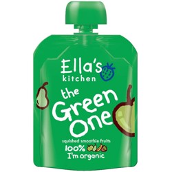 Ella''S Kitchen Organic Puree The Green One 90 Gr