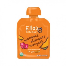 Ella''S Kitchen Organic Puree Mangoes 70 Gr