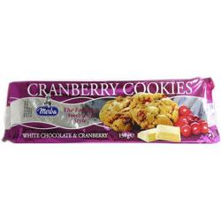 Merba White Chocolate Cranberry Cookies 150 Gr