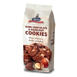 Merba Dark Chocolate Hazelnut Cookies 200 Gr