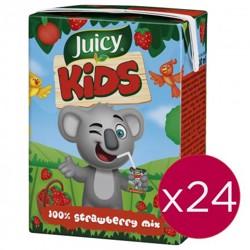 Juicy Kids 100% Strawberry Mix Juice 200 ml