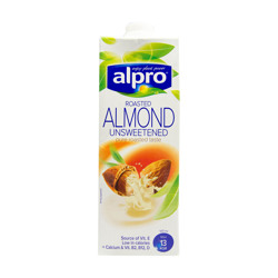 Alpro Drink Unroasted Almond Unsweetened 1 Lt