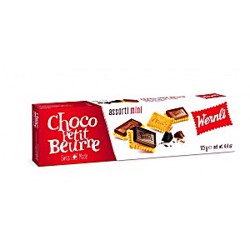Wernli Choco Petit Beurre Assorti Mini Wafer 125 Gr