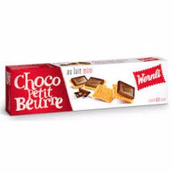 Wernli Choco Petit Beurre Au Lait Mini Wafer 125 Gr