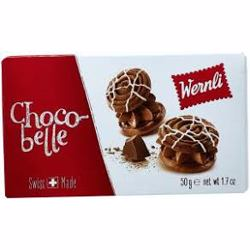Wernli Pocket Chocobelle Wafer 50 Gr