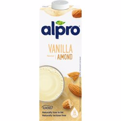 Alpro Drink Almond Touch Of Vanilla Flavour 1 Lt