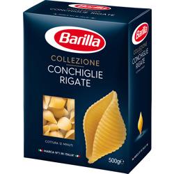 Barilla Conchiglie Rigate Pasta 500 gr