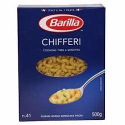 Barilla Chifferi Pasta 500 gr