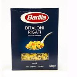 Barilla Ditaloni Rigate Pasta 500 gr