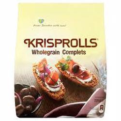 Pagen Krisprolls Wholegrain Complets 225 gr