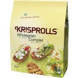 Pagen Krisprolls Wholegrain Complets No Sugar 225 gr