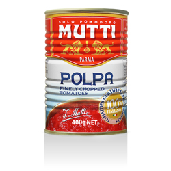 Mutti Finely Chpd Tmtos 400 Gr
