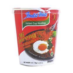 Indomie Cup Fried Instant Noodles 75 gr
