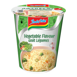 Indomie Cup Vegetable Instant Noodles 60 gr