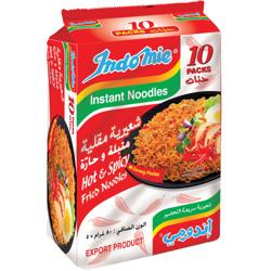 Indomie Hot & Spicy Fried Noodles 80 gr