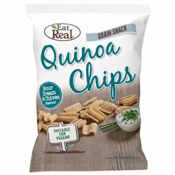 Eat Real Quinoa Sour Cream & Chive 80 gr