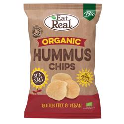 Eat Real Organic Hummus Chips Sea Salt 100 gr