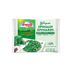 Al Wadi Frozen Chopped Spinach 400 gr