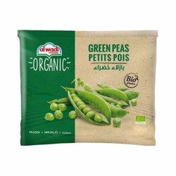 Al Wadi Frozen Green Peas Organic Organic 400 gr