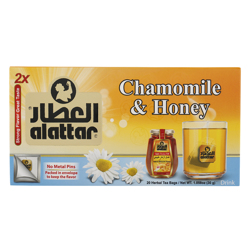 Alattar Chamomile & Honey 20 Herbal Tea Bags 30 gr
