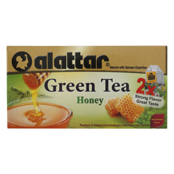 Alattar Honey 20 Green Tea Bags 30 gr