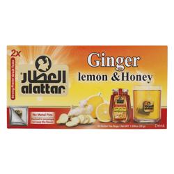Alattar Ginger Lemon & Honey 20 Herbal Tea Bags 30 gr