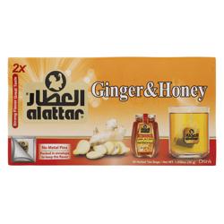Alattar Ginger & Honey 20 Herbal Tea Bags 30 gr