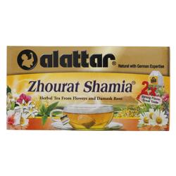 Alattar Zhourat Shamia 20 Herbal Tea Bags 30 gr