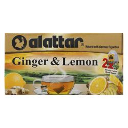 Alattar Ginger & Lemon 20 Herbal Tea Bags 30 gr