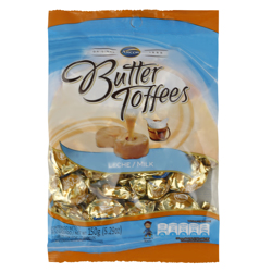 Arcor Butter Leche and Milk Toffees 150 gr
