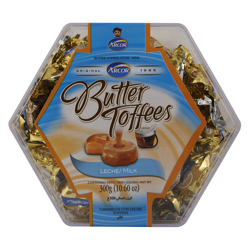 Arcor Leche and Milk Butter Toffees 300 gr