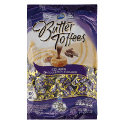 Arcor Candy Butter Eclairs Toffees 6 gr Pack of 100