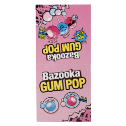 Bazooka Gum Pop 140 gr Pack of 12