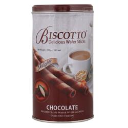 Biscotto Chocolate Wafer Sticks 370 gr