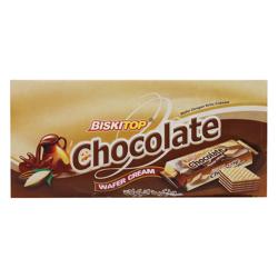 Biskitop Chocolate Cream Wafer 30 gr Pack of 24