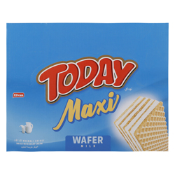Elvan Today Maxi Milky Wafer 38 gr Pack of 24