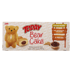 Elvan Today Bear Cake with Cocoa Filling 225 gr