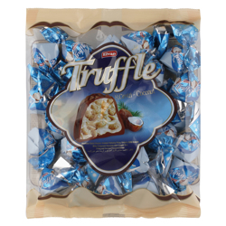 Elvan Coconut Cream Truffle Chocolate 500 gr
