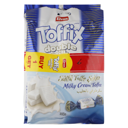 Elvan Double Milk Cream Twist Toffee, 300 gr Buy 1 Get 1 Free