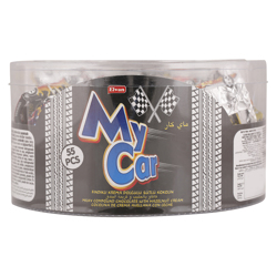 Elvan My Car Milky Compound Chocolate 8 gr Pack of 55
