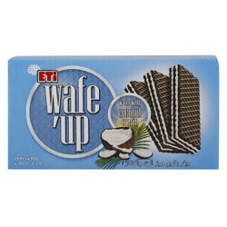 Eti Wafe''up Coconut Cream Wafer 40 gr Pack of 24