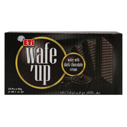 Eti Wafe''up Dark Chocolate Wafer 40 gr Pack of 24