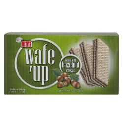 Eti Wafe''up Hazelnut Cream Wafer 39.5 gr Pack of 24