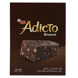 Eti Adicto Browni Cake 40 gr Pack of 24