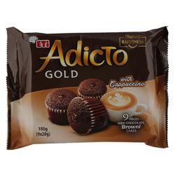 Eti Adicto Gold Cappuccino Chocolate Cake 180 gr