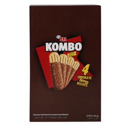 Eti Kombo Chocolate Dipped Biscuits 44.5 gr Pack of 24